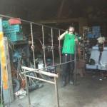 1st Set of railings
