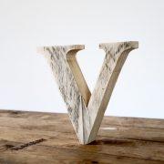 Scaffold Plank Letters - Rustic Wedding