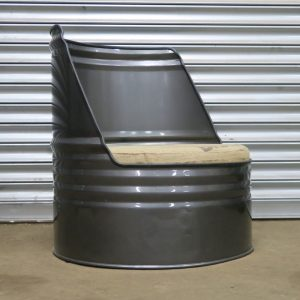 Oil Drum Chair - Oil Drum Seat