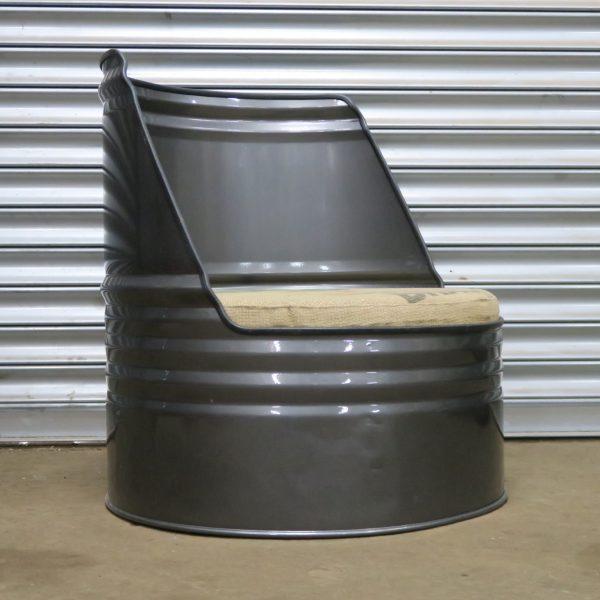 Genial Oil Drum Chair   Oil Drum Seat